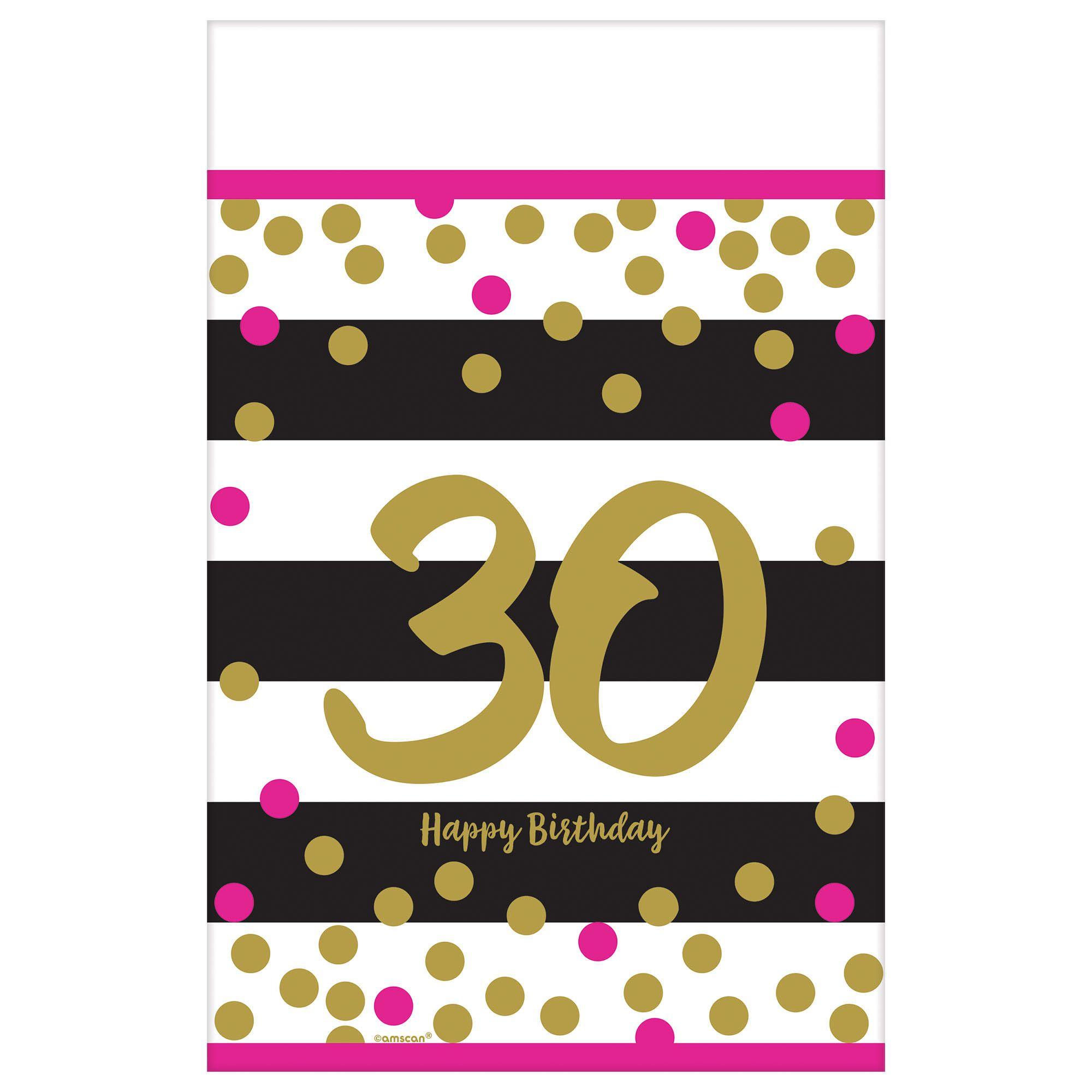 Pink & Gold Milestone 30 TC