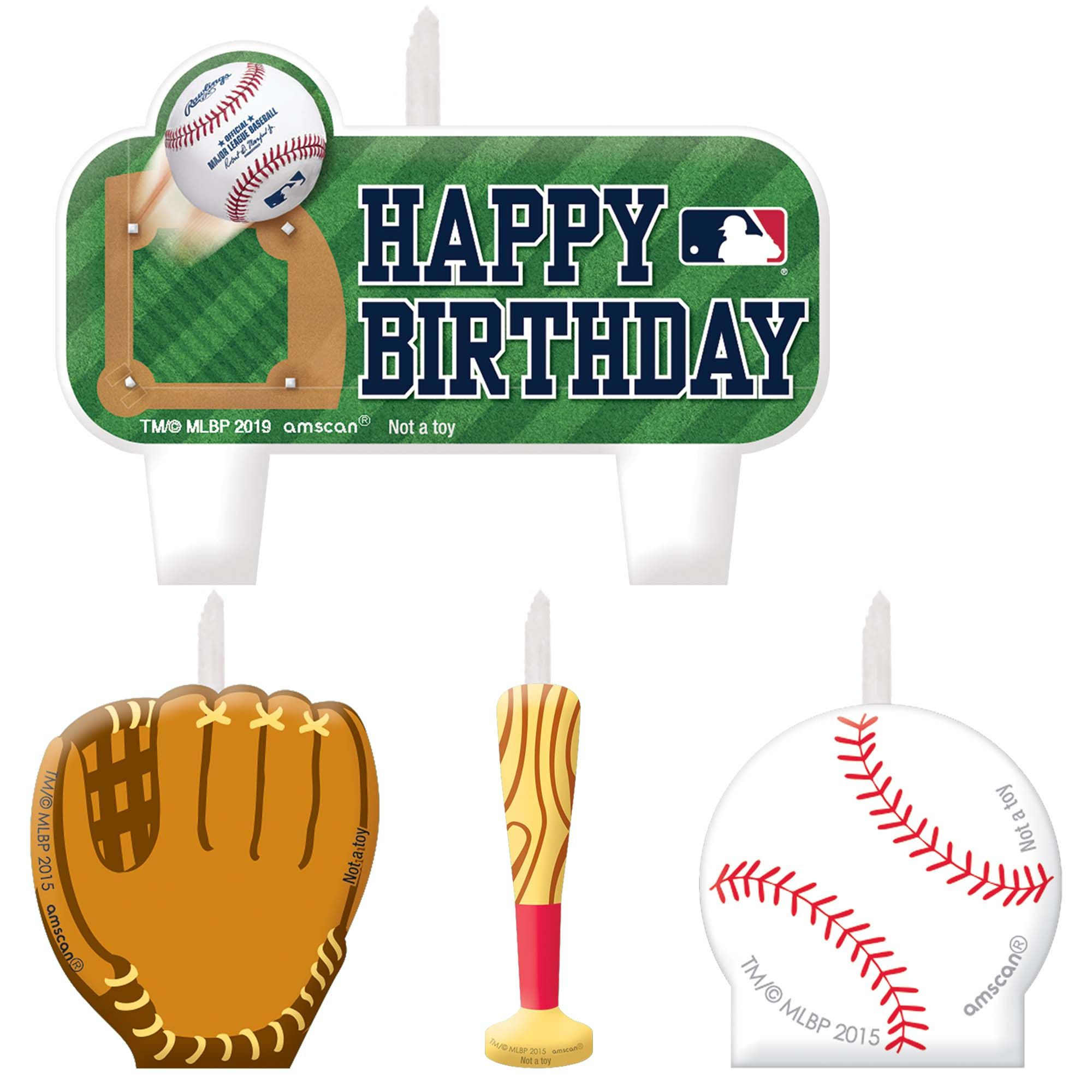 MLB B-Day Candle Set