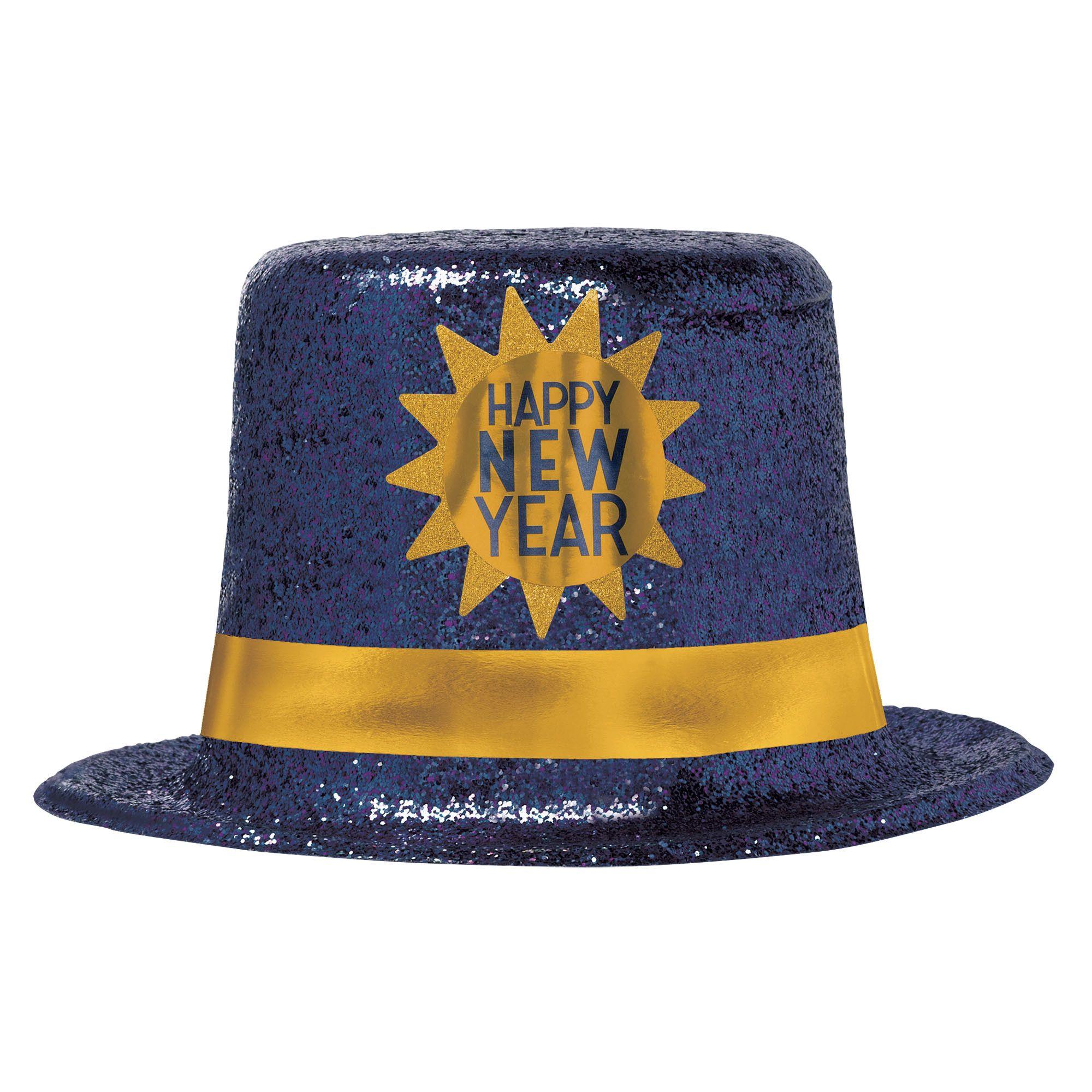 HNY Midnight Plastic Top Hat