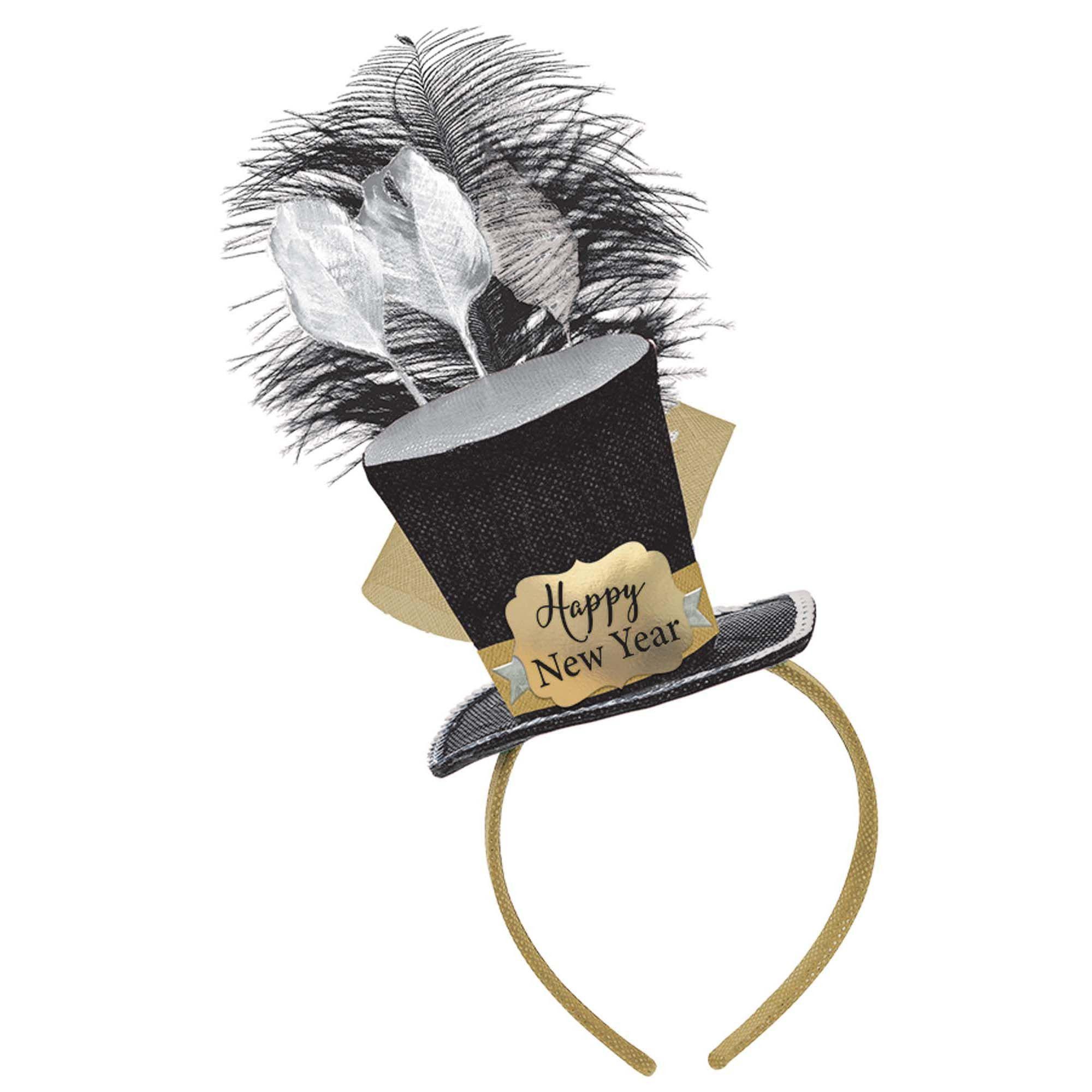 HNY Top Hat Headband