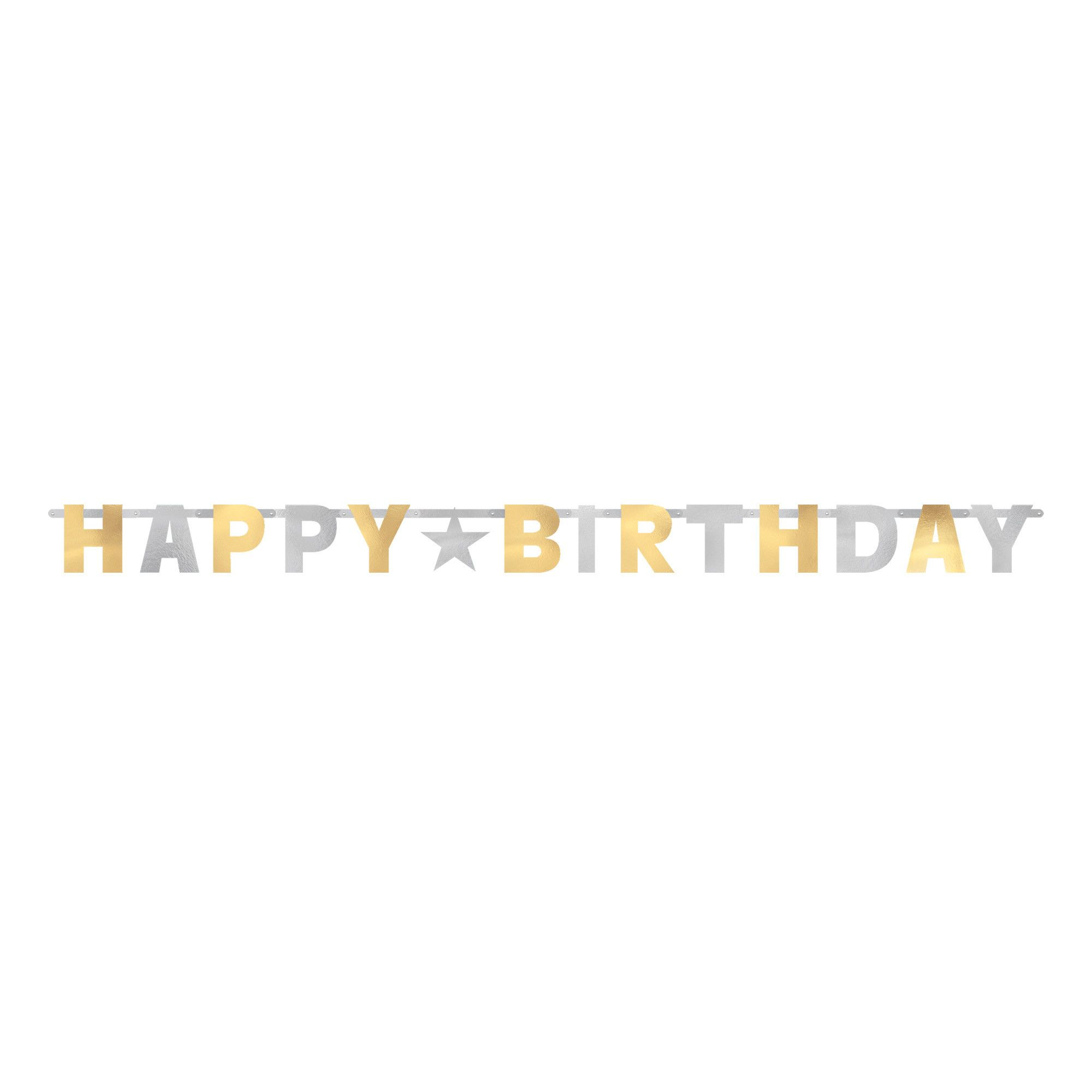 Bday Access S&G Letter Banner