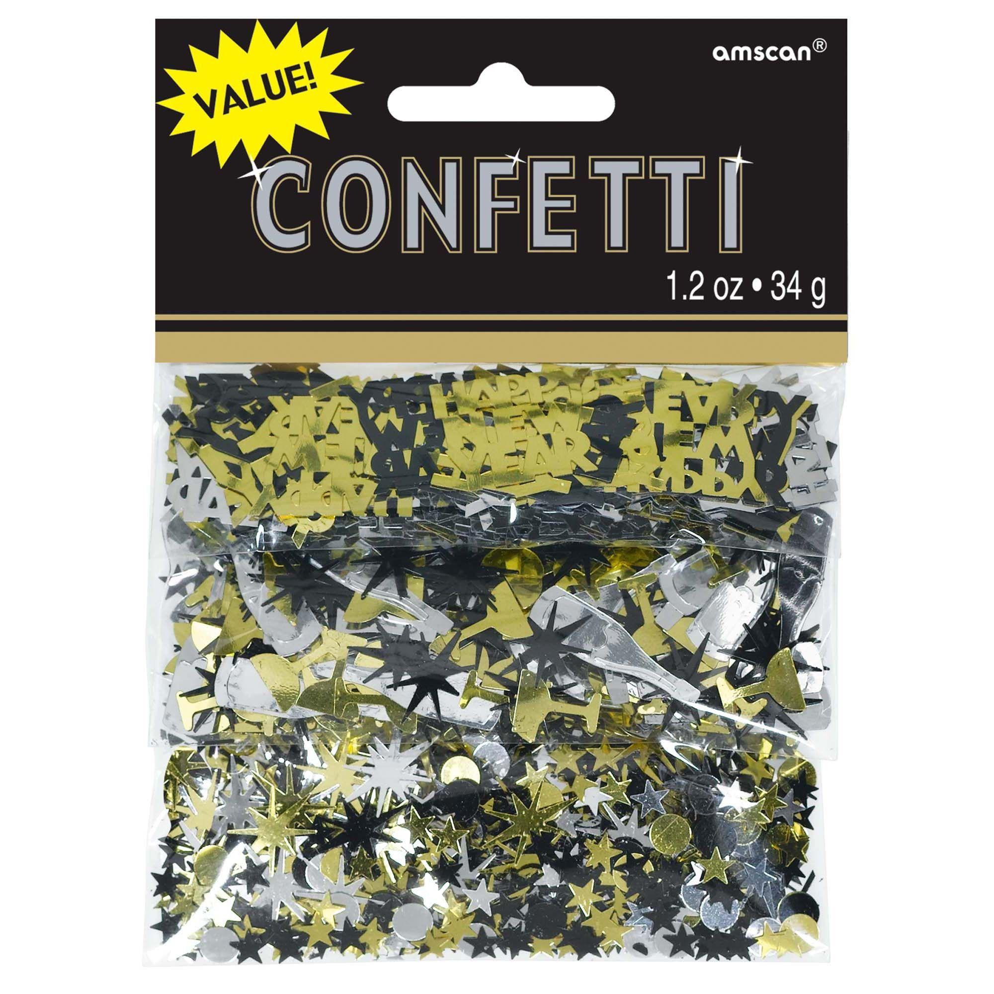 Confetti Value Silv/Blck/Gold/