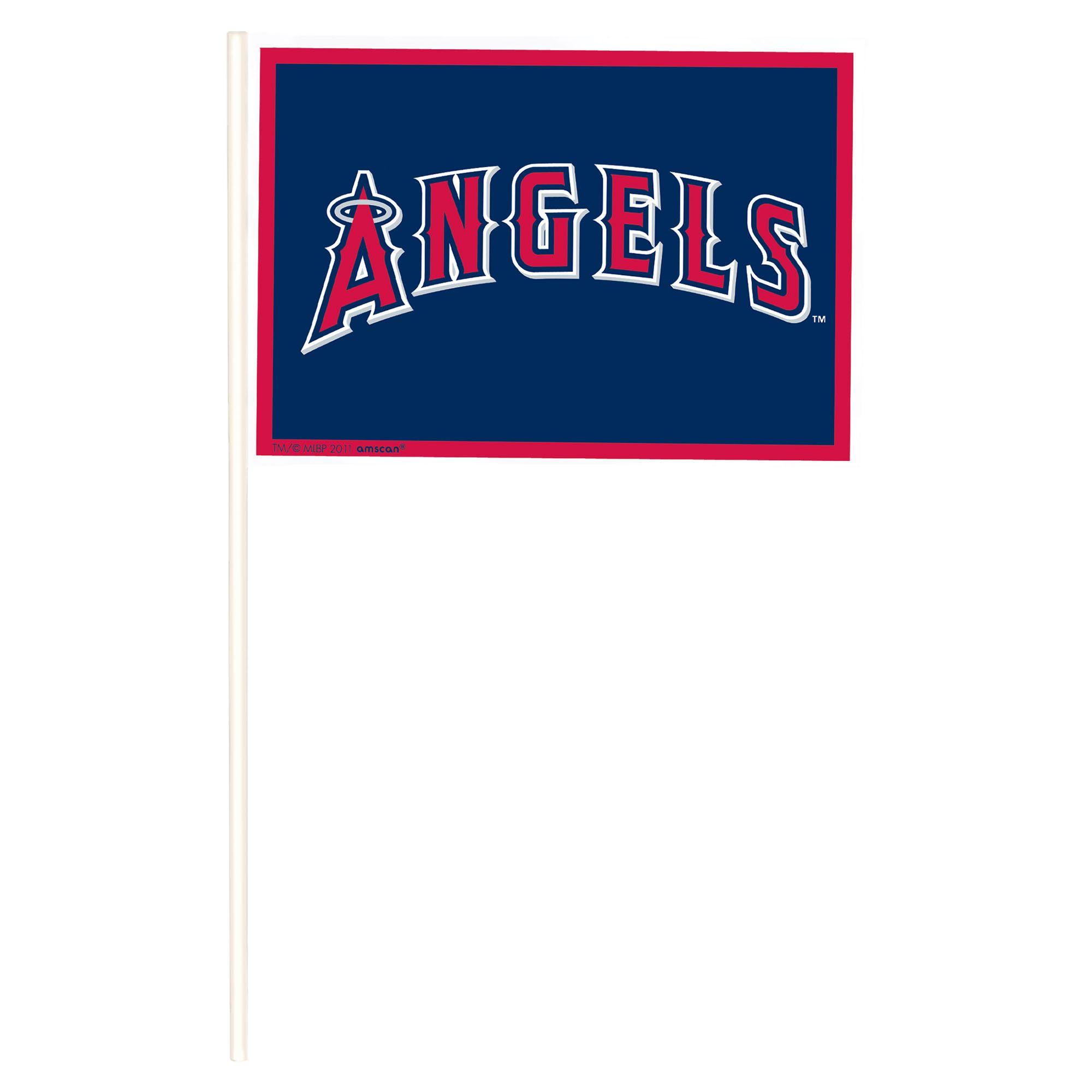 LA Angels Plastic Flags
