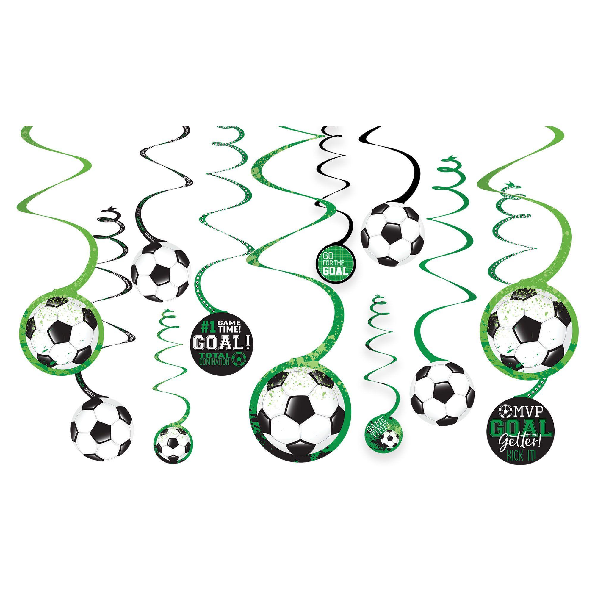 Goal Getter Spiral Deco