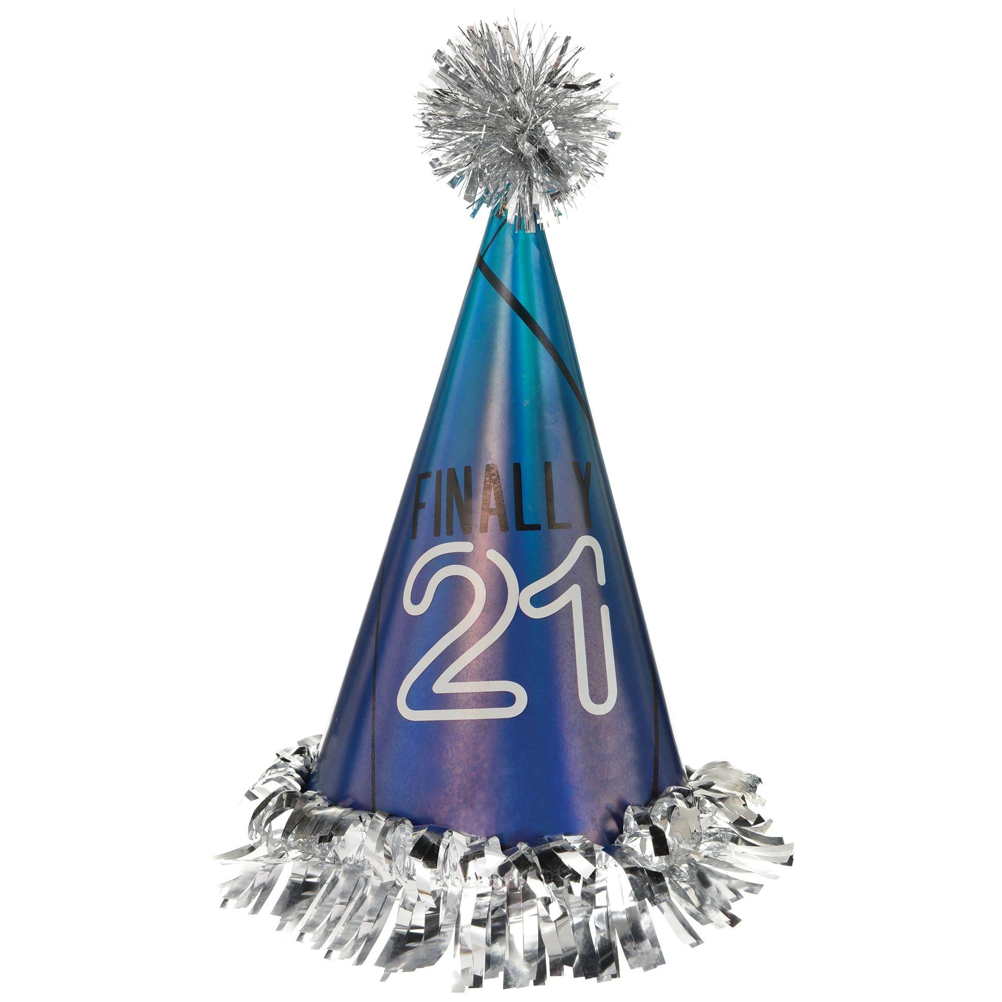 Finally 21 Cone Hat