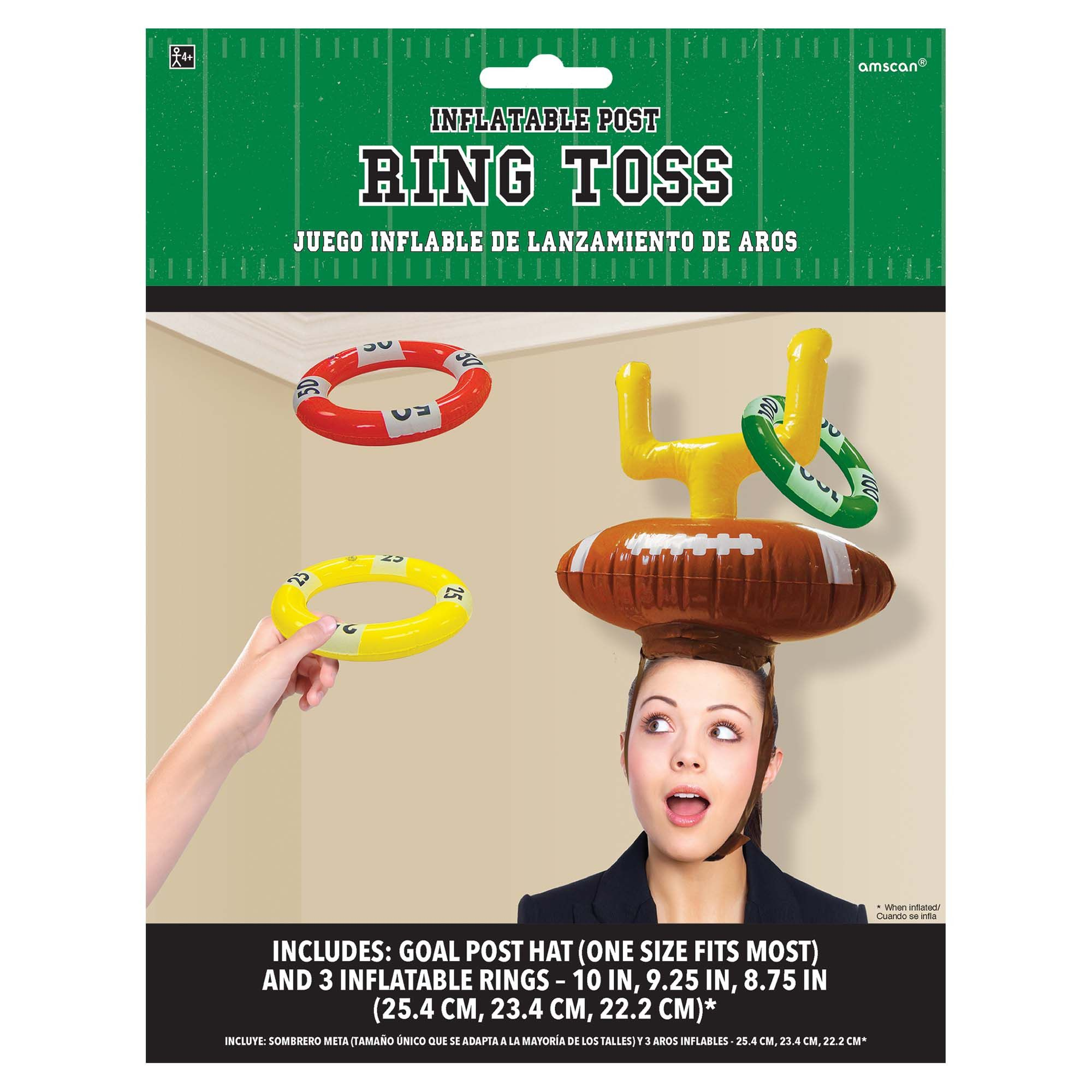 Inflatable Football Ring Toss