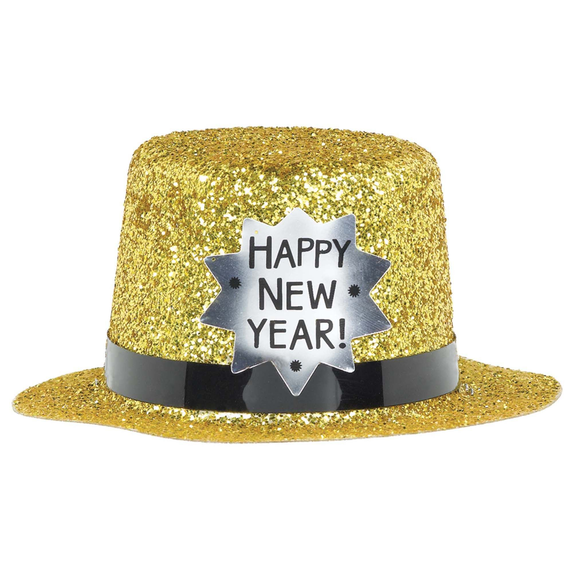 HNY Mini Top Hat Gold