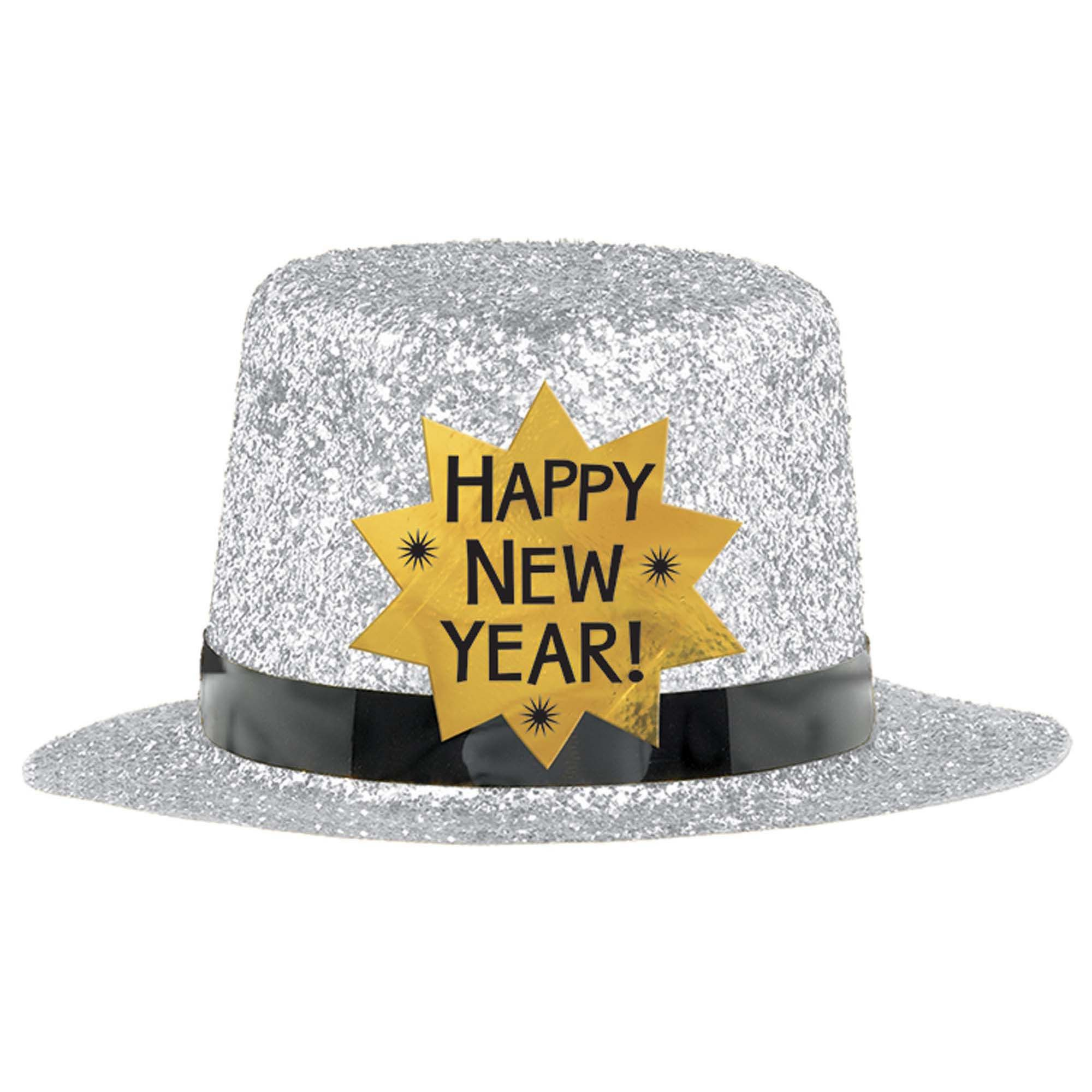 HNY Mini Top Hat Silver