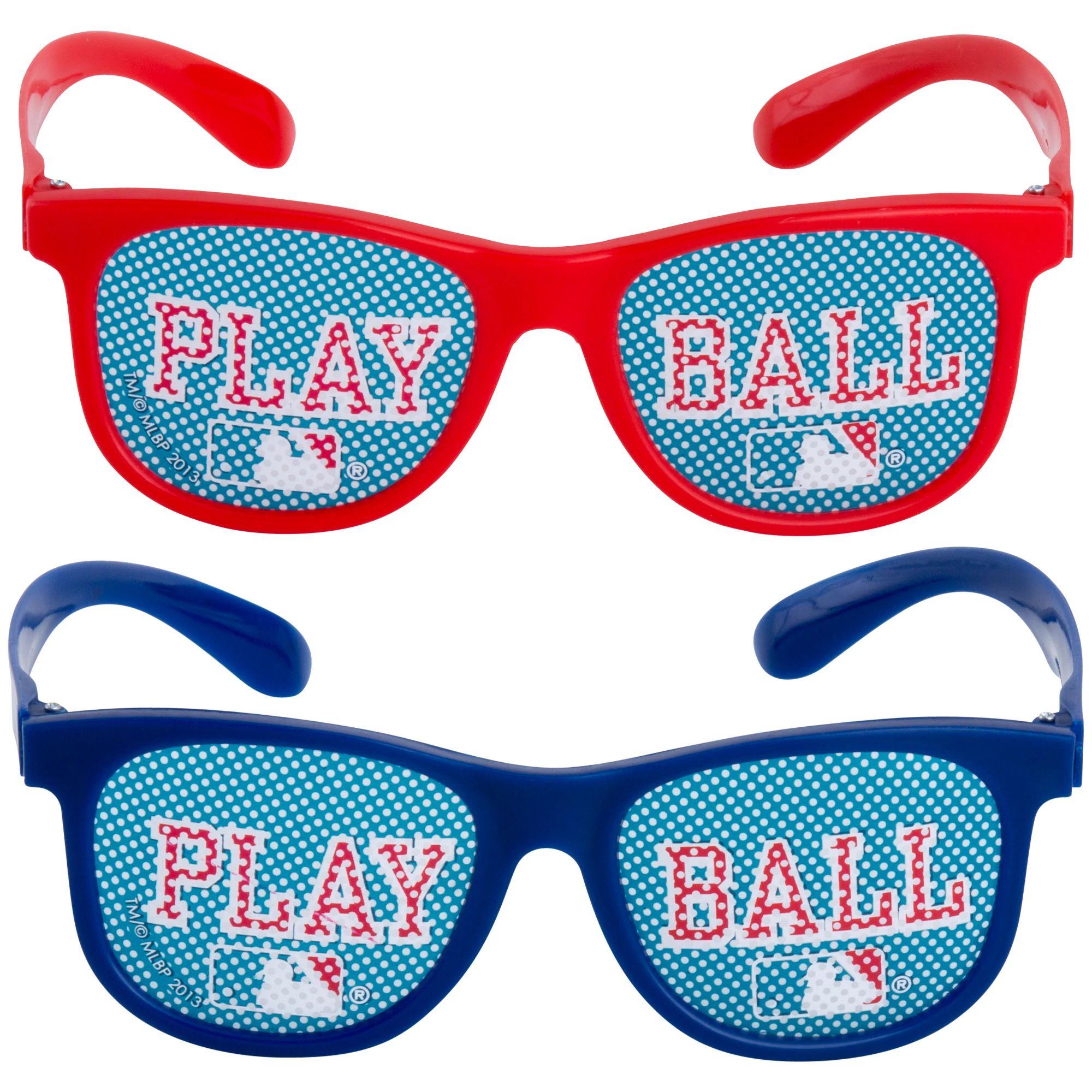 MLB Printed Glasses 10ct