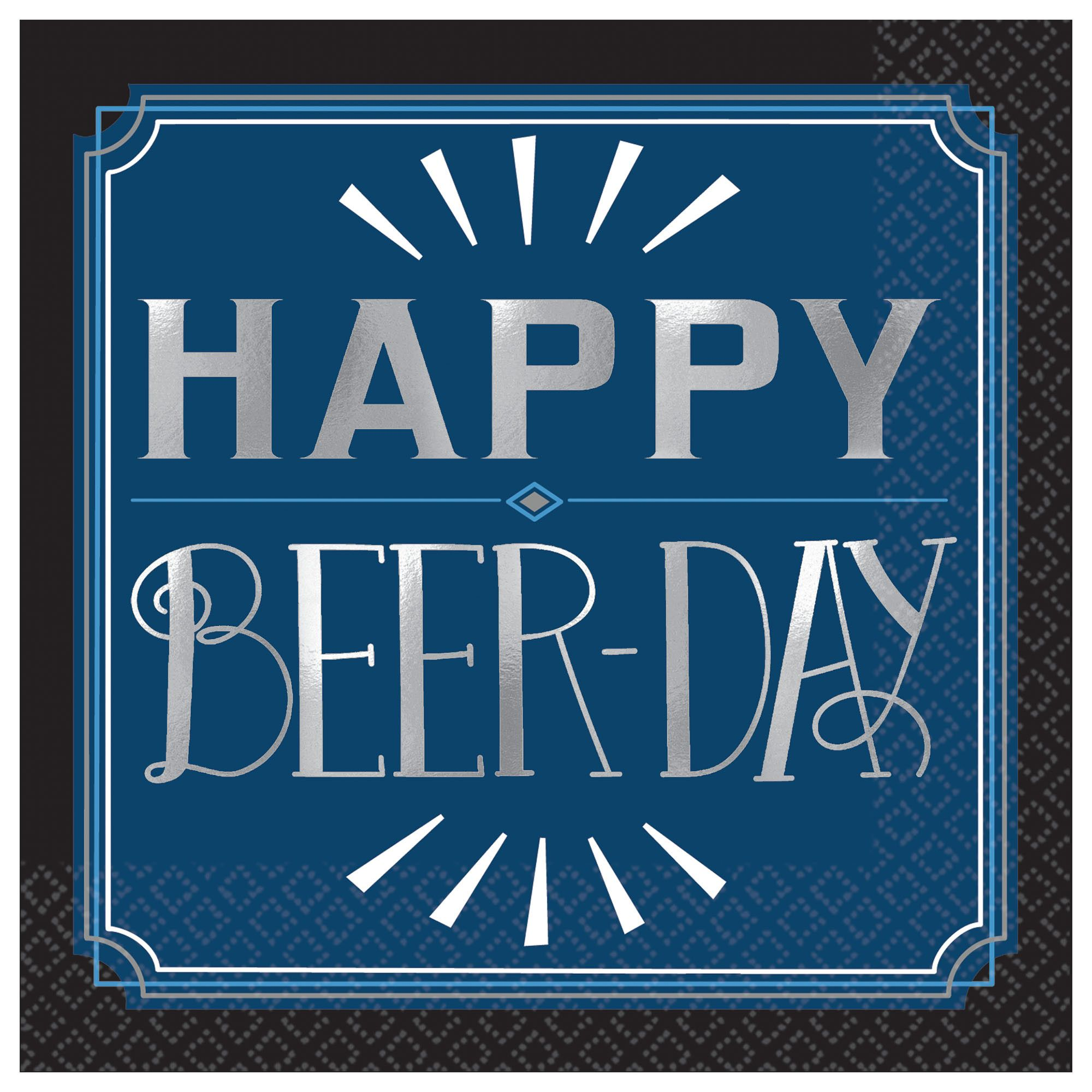 Happy Bday Manly Beerday BN
