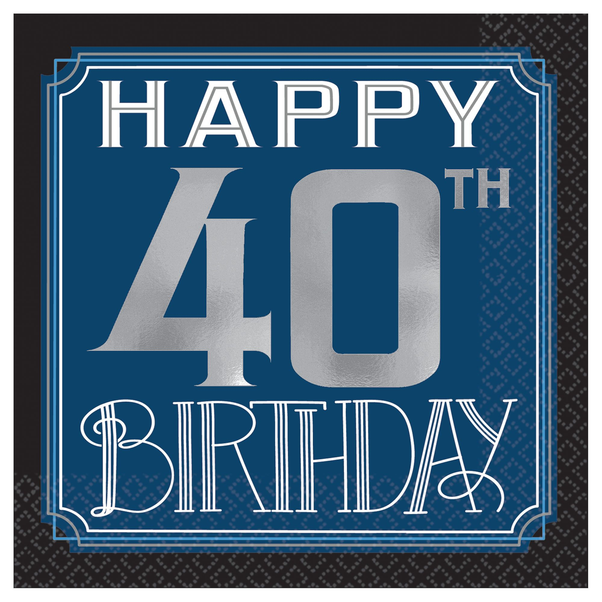 Happy Manly Bday 40th BN